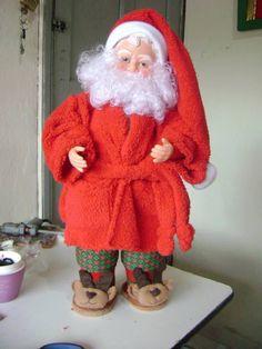 Papa niel b loaño Best Christmas Gifts, Christmas And New Year, Christmas Home, Christmas Holidays, Christmas Crafts, Christmas Decorations, Christmas Ornaments, Santa Doll, Christmas Fabric