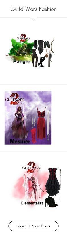 """Guild Wars Fashion"" by pink-poison ❤ liked on Polyvore featuring L'Oréal Paris, Rick Owens, Hudson Jeans, Miss Selfridge, GuildWars2, Estradeur, Aquazzura and Stuart Weitzman"