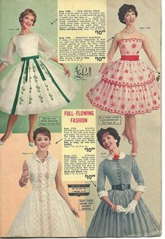 Lana Lobell Summer 1960 , yes please one of each! Look Vintage, Vintage Style Dresses, Vintage Skirt, Vintage Outfits, 60s And 70s Fashion, Timeless Fashion, Retro Fashion, Vintage Fashion, 1960s Outfits
