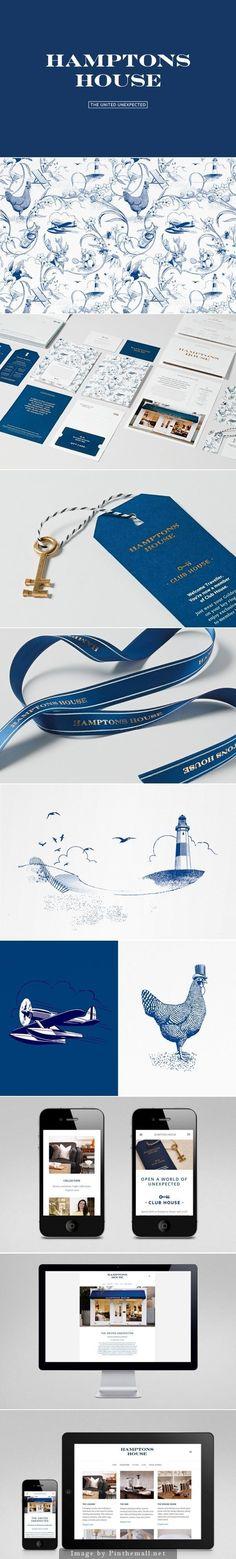 Hamptons #brand #identity