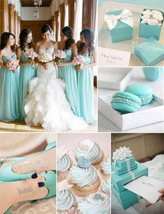 tiffany blue inspired wedding ideas with cute DIY details