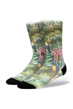 Mahalo Midcalves from Stance - men's socks are getting to be much more exciting!