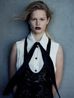Anna Ewers for Vogue Germany