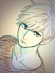 Daytime Shooting Star - Hirunaka no Ryuusei - Daiki Mamura Anime Drawings Sketches, Anime Sketch, Art Drawings, Manga Art, Manga Anime, Anime Art, Cool Anime Guys, I Love Anime, Anime Cosplay