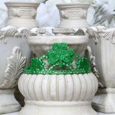 Saint Patrick's Day  Clover tiara by AVCustomDesigns $12.00