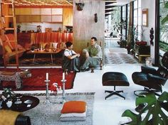 Charles and Ray Eames home
