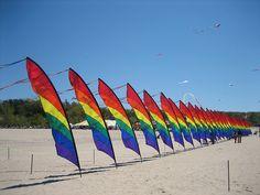 Grand Haven Kite Festival. Grand Haven, Michigan