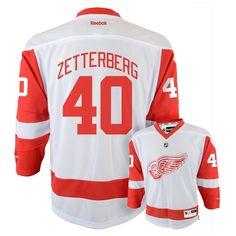 Reebok Detroit Red Wings Henrik Zetterberg NHL Jersey - Boys 8-20, Size: L-Xl, Ovrfl Oth