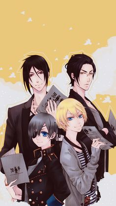 black butler wallpaper