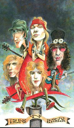 Rock Hall 2012: Guns N' Roses: Hard-rock legends with an appetite for dysfunction