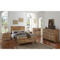 Oscar Reclaimed Wood 5-drawer Dresser by Kosas Home
