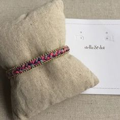 I just added this to my closet on Poshmark: Wanderer Cuff - pink. Price: $22 Size: Adjusts to fit SM-LG wrists