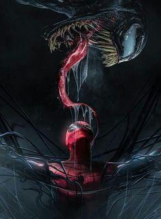 Spiderman And Venom Wallpaper Spider Man Vs Venom, Venom Spiderman, Marvel Venom, Spiderman Art, Amazing Spiderman, Wallpaper Spider Man, Marvel Wallpaper, Lion Wallpaper, Wallpaper Wallpapers