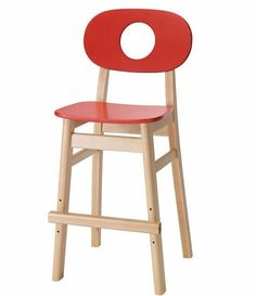 Chaise+enfant+-+The+Hukit+Chair+-+Rouge