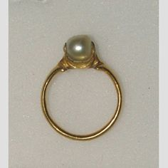 16th C Italy.  Gold and pearl
