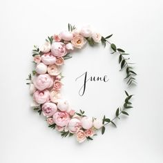 Hello #June with roses from The Real Flower Co