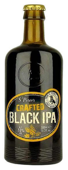 Beers of Europe   St Peters Black IPA