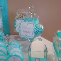 TIFFANY & CO Baby Shower Party Ideas | Photo 1 of 29 | Catch My Party