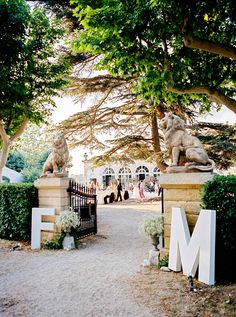 South of France Wedding at Chateau dAlphéran  Read more - http://www.stylemepretty.com/2013/12/16/south-of-france-wedding-at-chateau-dalpheran/