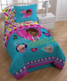 Doc McStuffins Bedding For the Cool Kids | Bedding sets, Room and Gift