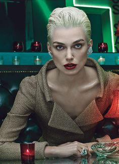 "Keira Knightley version 2000 by Steven Klein for ""W"" magazine"
