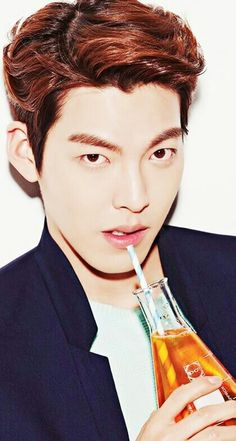 김우빈 Uncontrollably Fond, Clear Lip Gloss, Man Hair, Kim Woo Bin, Korean Art, Bae Suzy, Boy Hairstyles, Man Style, Background Patterns