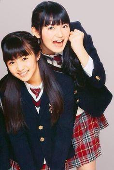 Moa Kikuchi & Suzuka Nakamoto