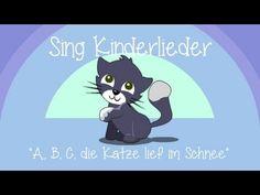 ABC, die Katze lief im Schnee - Kinderlieder zum Mitsingen   Sing Kinderlieder - YouTube