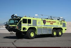 clark county fire dept apparatus | ... ARFF Clark County Fire Department Emergency Apparatus Fire Truck Photo