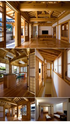 I really really like this modern Korean house.
