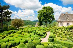 Marqueyssac Gärten - Frankreich