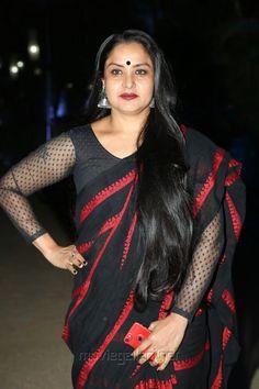 Long haired busty Pragathi