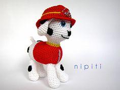 Ravelry: Paw Patrol Puppy - Marshall pattern by nipiti