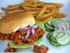 Barbeque Chicken Sloppy Joe Sandwiches