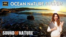 Calming nature sounds of waves washing up against the shore Ocean Sounds, Nature Sounds, Nature Gif, Ocean Waves, Calming, Meditation, Relax, Sleep, Zen