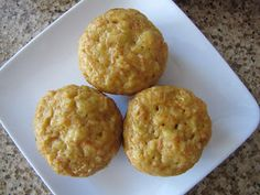 Adventures in Food: Carrot-Apple-Coconut Muffins