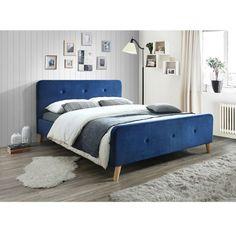 Malmo kék ágykeret 160cm bársony Varázsold újjá a pihenés perceit a Malmo ágykeret segítségével! Kiváló minőségű alapanyagai biztosítják, hogy hosszú ideig legyen hű társad otthonodban. Kényelemmel és ellenálló megjelenéssel kényeztet a szürke hétköznapokban. Segítségével minden egyes éjszaka egyedülálló élménnyé válik!