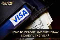 Hava a free time, learn something about how to deposit and withdraw money using Visa!! It's easy and safe, deposit and play enormous games on the move: https://www.jackpotmobilecasino.co.uk/blog/deposit-withdrawal-money-using-visa/