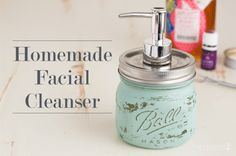 Homemade Facial Cleanser - Rubies & Radishes