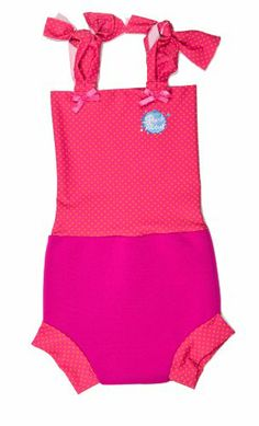 f8a934b64dfa Happy Nappy Swimming Costume - Pink Mango Spot Swimming Costume