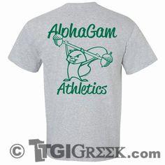 TGI Greek Tshirt - Alpha Gamma Delta - Alpha Gam Athletics