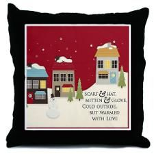 Warmed With Love Throw Pillow