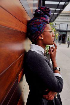Inspiração: lenço na cabeça | Dia de Beauté                                                                                                                                                      Mais