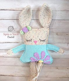 A sweet Ragdoll style Bunny to add to your Spring season!