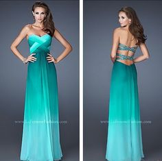 Would've been a cute prom dress ..