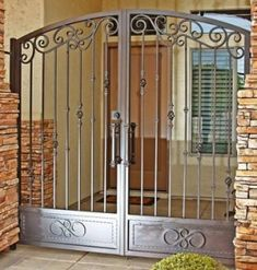 Image result for front door iron security gate