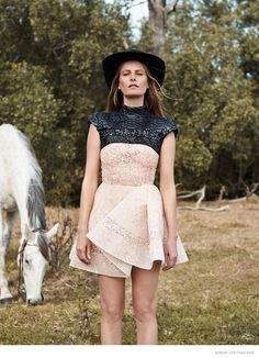 cute dress | Emma Balfour Embraces Nature for Sunday Life by Trevor King
