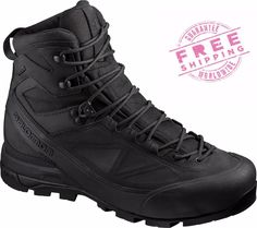 Tactical Footwear 177897: Salomon X Alpt Mtn Gtx Forces Gore-Tex Military Mountain Tactical Boots Black -> BUY IT NOW ONLY: $249 on eBay!