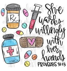 Pharmacist Essential Worker She Works Willingly With Her Hands Proverbs Occupation Ready to Press Sublimation Transfer Nurses Week Quotes, Nursing Quotes, Nursing Memes, Pharmacy School, Pharmacy Humor, Pharmacy Gifts, Pharmacy Student, People Reading, Pharmacy Technician