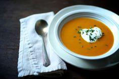 soups, butternut soup, bake squash, squash soup, winter squash